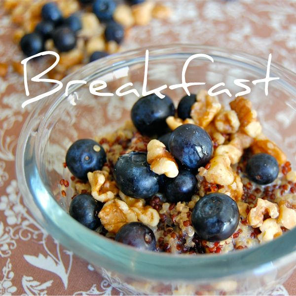 Daniel fast recipes for all meals -clean blueberry pancakes, nutty strawberry breakfast quinoa, corn muffins, tuscan soup, black bean tacos, bean & rice curry and taco soup recipes
