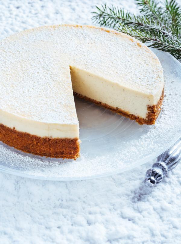 Recette de Ricardo de gâteau au fromage au lait de poule