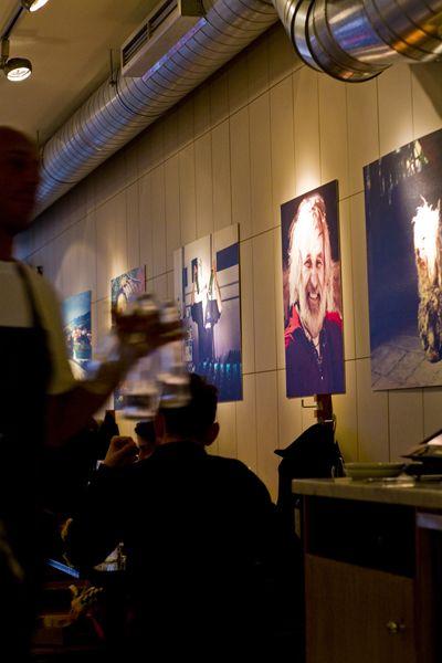 Interior Restaurant Franco Manca în Londra