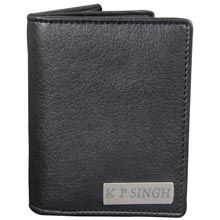 A good gift for men: Personalised Long Black Gents Wallet Smart Personalized Leather wallet to keep all your money, cards safely at one place. An ideal Personalized Leather wallet for you or your loved ones. #giftsformen