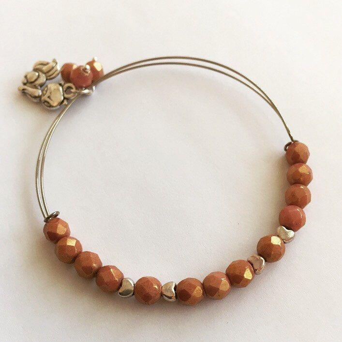 Camellia Bracelet by MrsGillmore on Etsy https://www.etsy.com/listing/267046572/camellia-bracelet