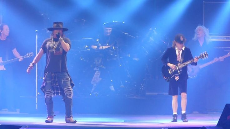 AC/DC feat. Axl Rose - Full Show, Live at The Verizon Center, Washington...