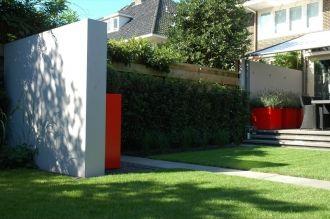 Meer dan 1000 afbeeldingen over moderne tuinen op pinterest for Tuinontwerp heemstede