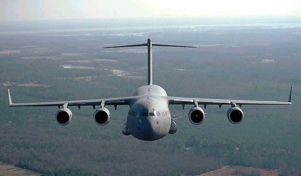 C-17 Globemaster III on exercise. - Image - Airforce Technology
