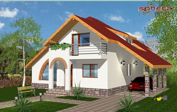 Proiect Casa Stela - PROIECTE DE CASE. Arhitectura. Rezistenta. Instalatii