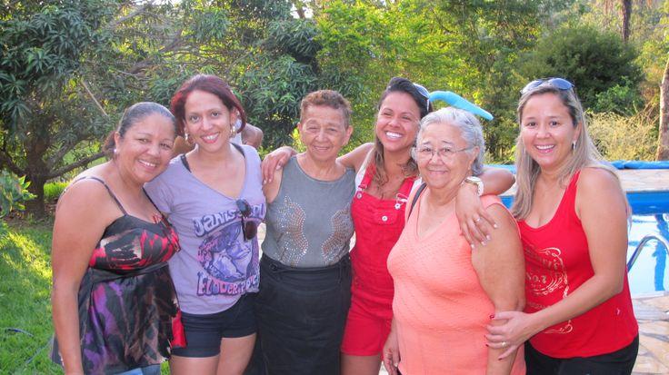 Encontro familia em Taquaraçu de Cima