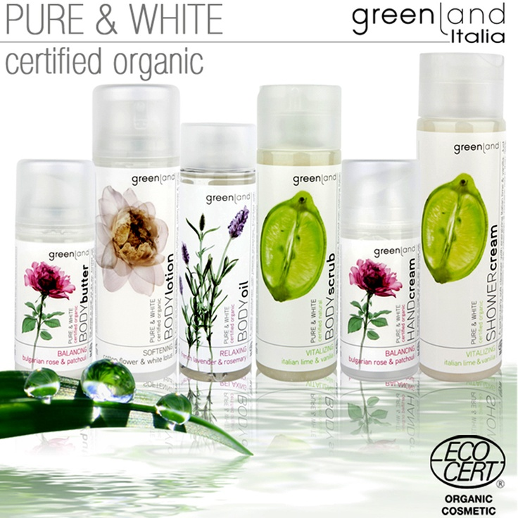 I prodotti della linea Pure & White sono disponibili in cinque delicatissime fragranze:  - Bulgarian Rose & Patchouli  - Italian Lime & Vanilia  - French Lavender & Rosemary  - Cotton Flower & White Lotus  Potete trovarli anche nello shop online di Greenland Italia.