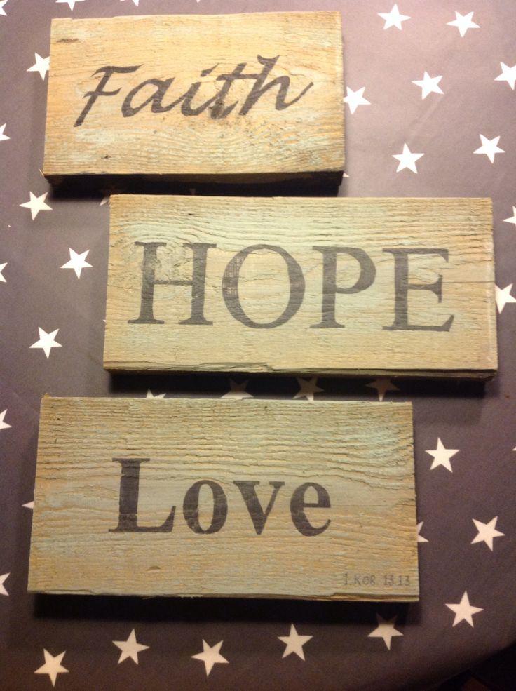 Tro håb og kærlighed