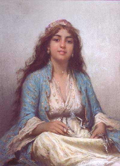 Portrait of an unknown Ottoman woman | Flickr - Photo Sharing!