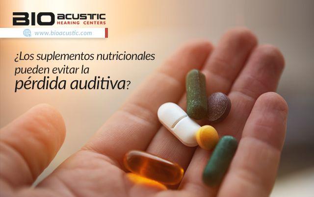 Audifonos para Sordera: ¿Los Suplementos Nutricionales Pueden Evitar la Pé...