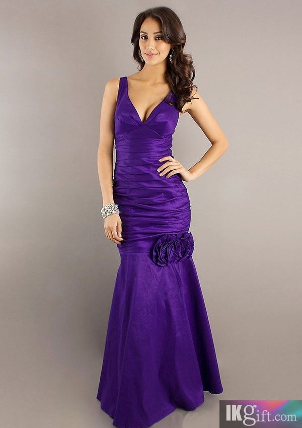 Mejores 44 imágenes de Purple Prom Dress en Pinterest | Vestido de ...