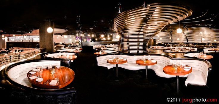 STK in the Cosmopolitan Hotel. STK is a new style Las Vegas steakhouse from The One Group and Executive Chef Stephen Hopcraft.    Photo ©A.Jorgensen