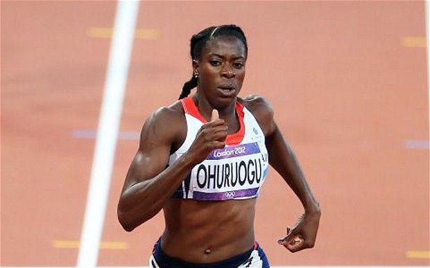 Christine Ohuruogu 400m SILVER MEDAL