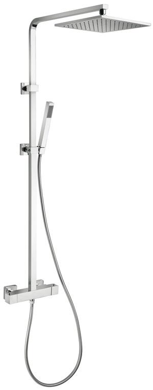 Il prodotto DAX Colonna doccia quadra con miscelatore termostatico (PA-84CR689TH3SQP1) prodotto dalla PAINI ha uno stile Moderno e solo Bagno italiano ti offre il vero Made in Italy e consegna Immediata.