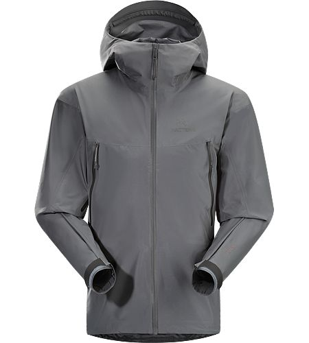 Alpha LT Jacket Gen 2 Men's Lightweight and packable waterproof, windproof/breathable jacket that is comfortable to wear during fast travel under inclement conditions.