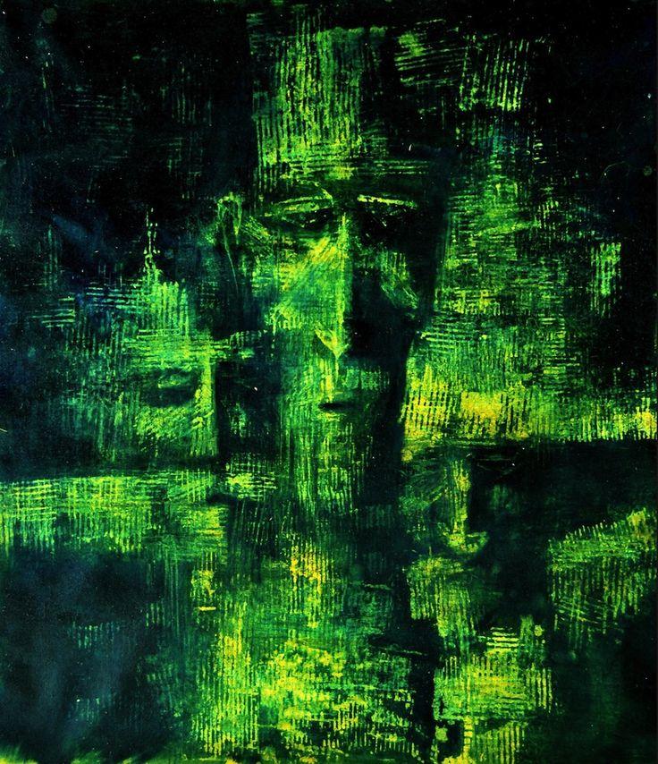 """Grzegorz Klimek """" Trzy twarze"""" / sprzedane"""