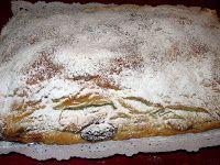 Cocinando entre Olivos: Empanada de chocolate y almendras. Paso a paso.