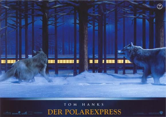 The Polar Express (German) 11x14 Movie Poster (2004)