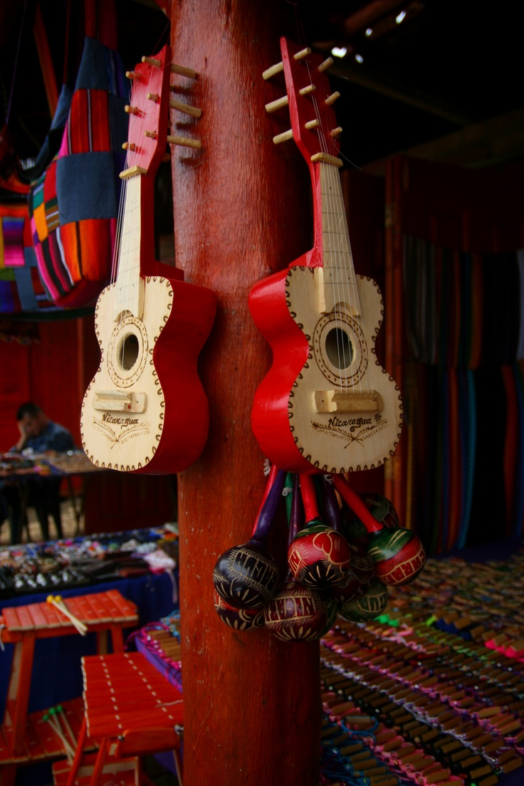 Handmade Guitars Maracas And Other Wooden Instruments At