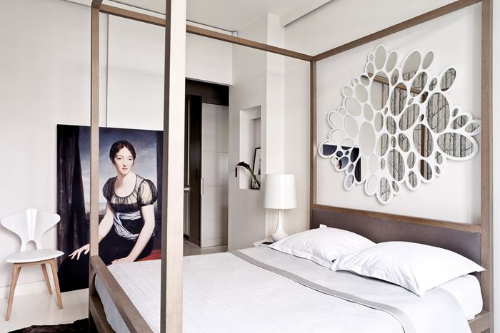 Bedroom design by Damien Langlois-Meurinne | Photo by Stephan Julliard