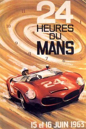 24 Hours Le Mans 1963 #France