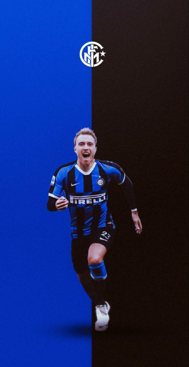 Christian Eriksen Inter In 2020 Football Illustration Football Art Football Players