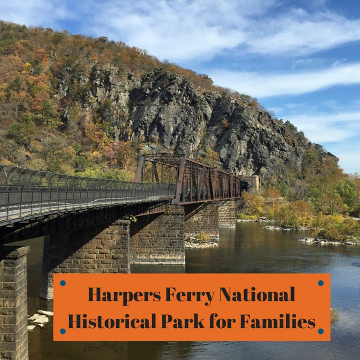 Harpers Ferry National Historical Park for families | tipsforfamilytrips.com #westvirginia