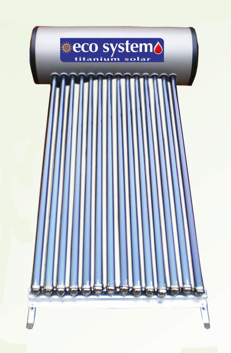 Ηλιακός θερμοσίφωνας κενού Eco