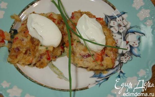Котлетки из фасоли со сладким перцем и чили  | Кулинарные рецепты от «Едим дома!»