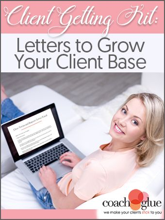Client Getting Letters Kit: 7 Done-for-You Letters to Grow Your Client Base. Click here > https://in234.isrefer.com/go/clientgetting/stillwriting/