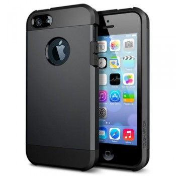 Tough Armor High Protection Case for iPhone 5 & 5S - Black