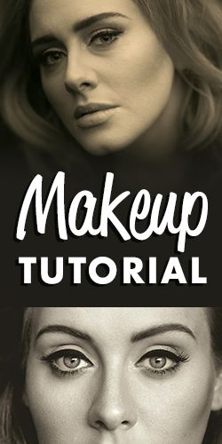 You Have to See this Adele-Inspired #Makeup #Tutorial!