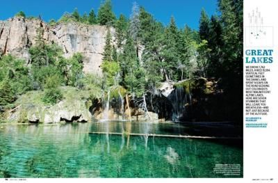 Piney Lake, Vail, CO - Walking trails with easy parking and restrooms also has canoe rentals