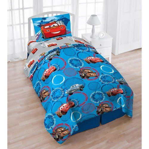 4pc Disney Cars Spokes Twin Bedding Comforter Sheets Set by Disney   69 99   One Disney Cars Spokes twin comforter  flat and fitted sheets  and  pillowcase. 212 best Home   Kitchen   Bedding images on Pinterest   Sheet sets