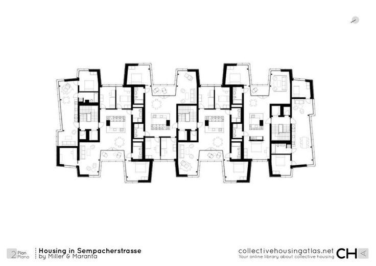 Miller & Maranta - viviendas en sempacherstrasse -  2015 - Basel