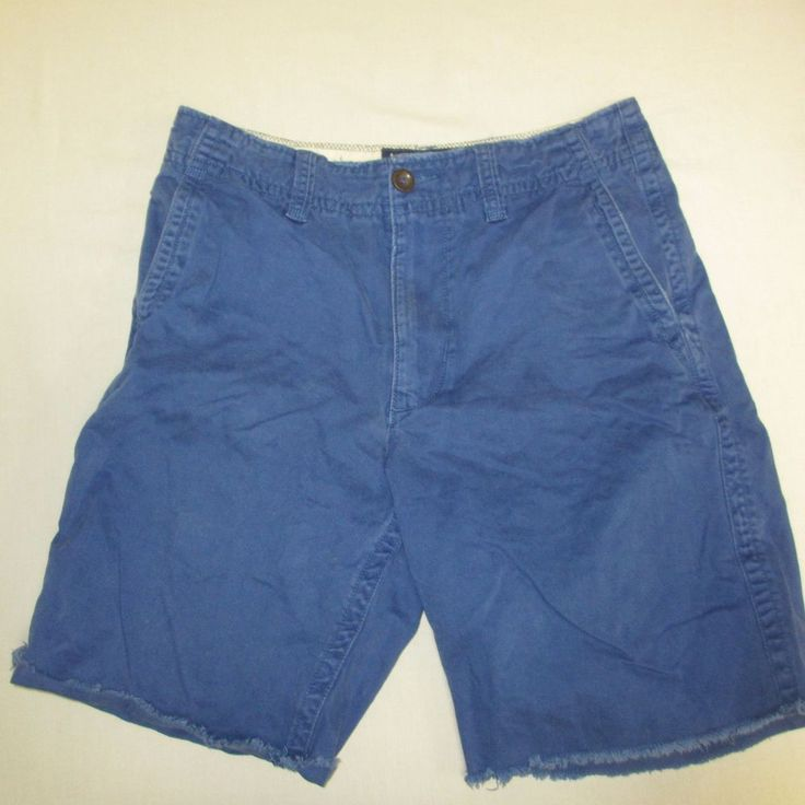 US $10.00 Size 31 American Eagle Shorts Blue Chino Cargo Casual   eBay #second #hand #vintage #rare #clothes #pre #owned #secondhand #worn #preowned #casual #men #dude #boy #guy #wear #clothing #resale