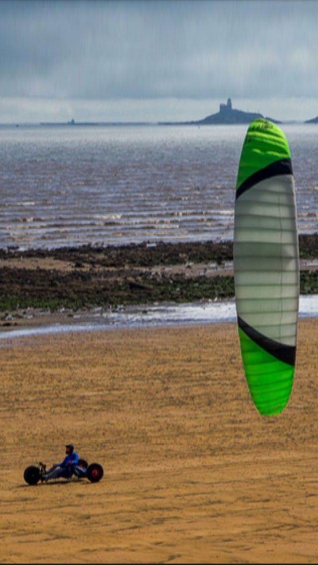 Extreme Sport: Sand Kiting