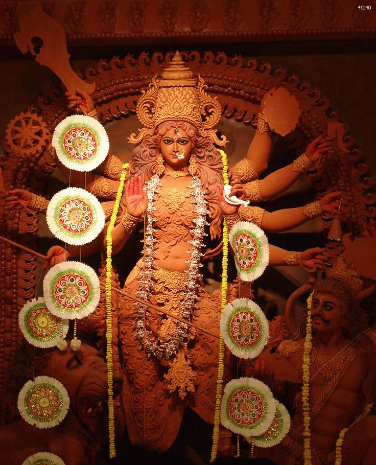 Durga Puja in India    http://www.carltonleisure.com/travel/flights/india/