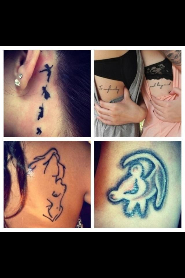 cute Disney tattoos