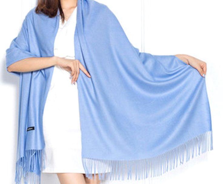 Cashmere Wool Super Soft Warm 30 Colors Scarves 70 x 200cm