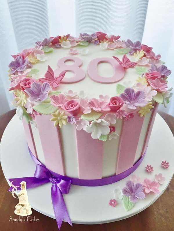 Las 25 mejores ideas sobre 70th birthday cake en pinterest for Gardening 80th birthday cake