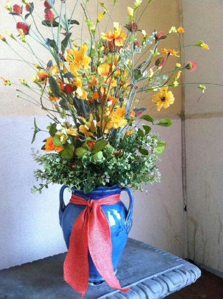 wild flower arrangement - Home Decor Houston