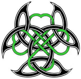 DeviantArt: More Like Four Leaf Clover Celtic Tattoo by AirNymphSS