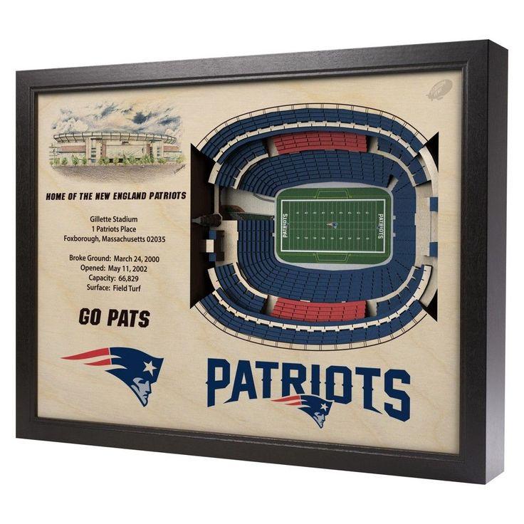 NFL New England Patriots StadiumViews Wall Art - Gillette Stadium