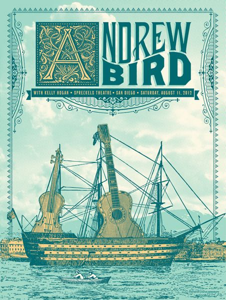 Andrew Bird, this makes me want to listen to his music more
