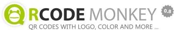 QRCDE MONKEY es un servicio web gratuito en el que podemos generar nuestros códigos QR de forma personalizada