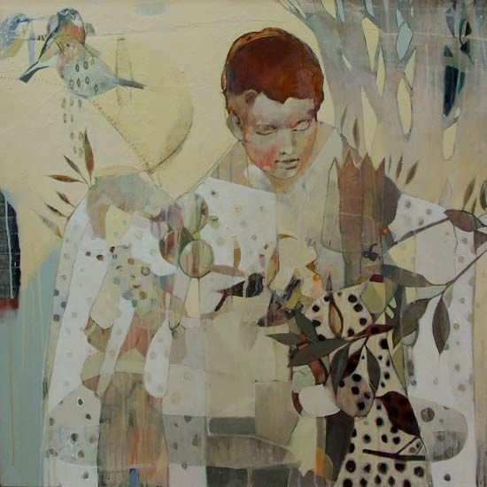Featuring work by Damien Kamholtz - She Let The Bird Go available at Anthea Polson Art on the Gold Coast Australia, specialising in contemporary Australian art and sculpture