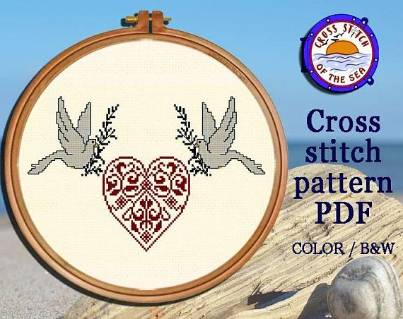 Hey, I found this really awesome Etsy listing at https://www.etsy.com/listing/576460209/love-cross-stitch-pattern-heart-cross