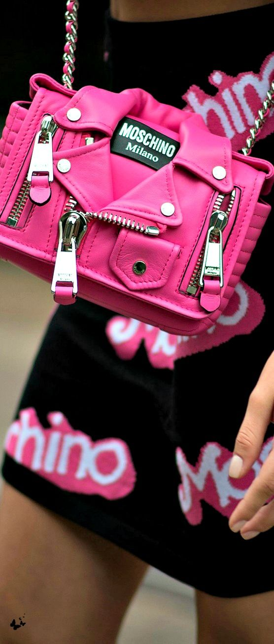 LUXURY BRANDS | Moschino pink coat bag | www.bocadolobo.com #LadyLuxuryDesigns #expensive #exquisite