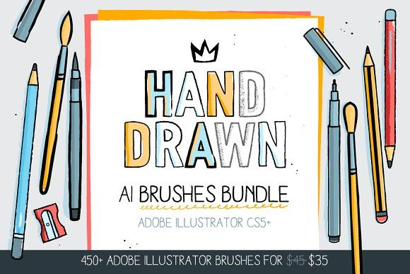 450+ AI Brushes BUNDLE! by Side Project on @creativemarket